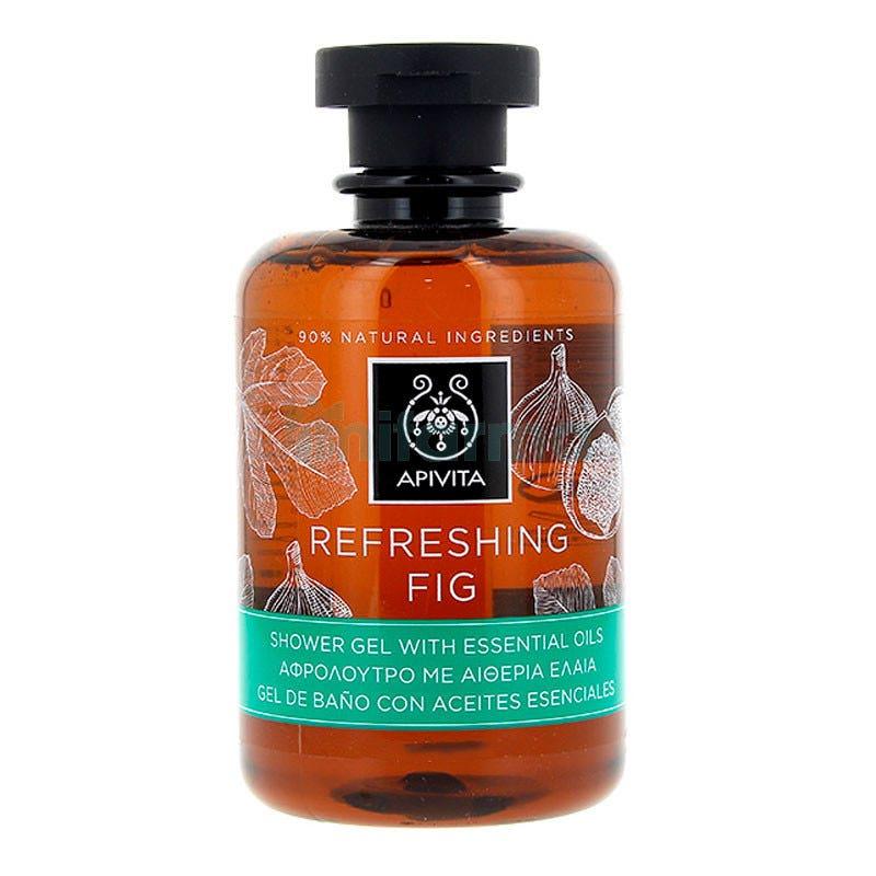 Apivita Body Refresh Gel de Bano y Ducha Refrescante de Higo 300ml