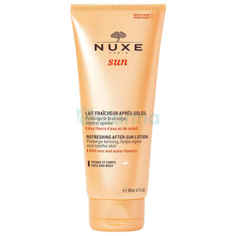 Nuxe SUN Leche Facial y Corporal Para Despues del Sol 200 ml AfterSun