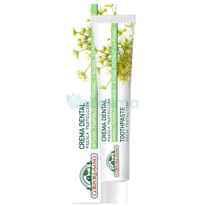 Corpore Sano Crema Dental con Mirra Propolis e Hinojo 75ml