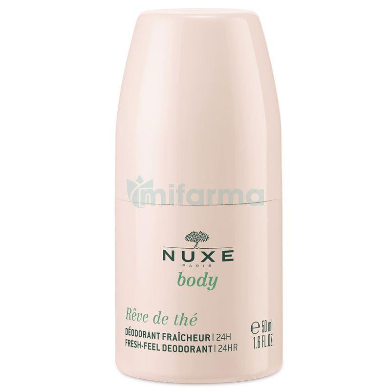 Nuxe Body Deodorant Longue Duree Desodorante Larga Duraccion Roll-on 50 ml
