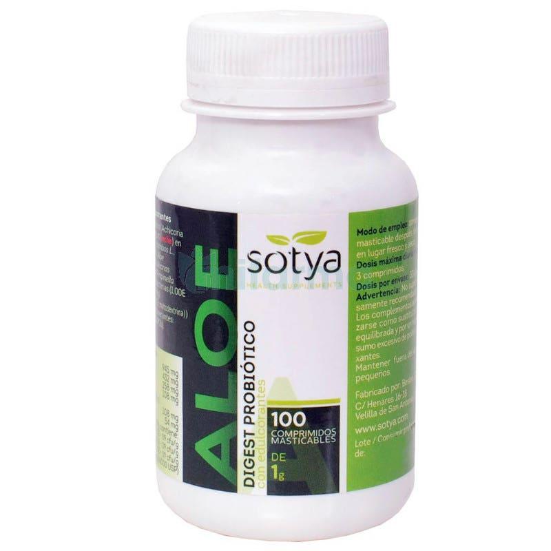 Aloe Vera Mast  Sotya 100 Comprimidos