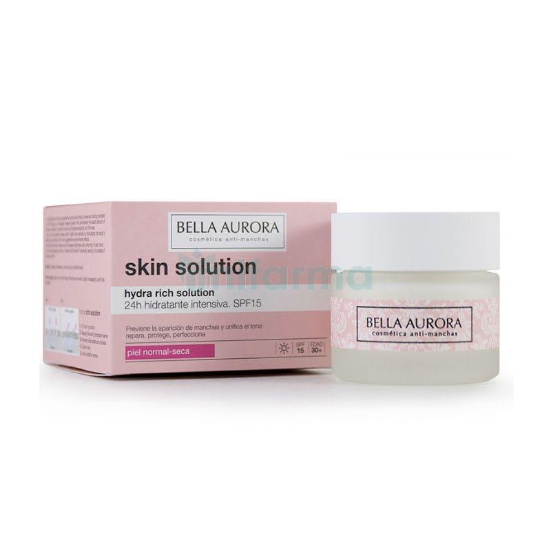 Crema Hidratante Hydra Rich Solution Bella Aurora 50 ml