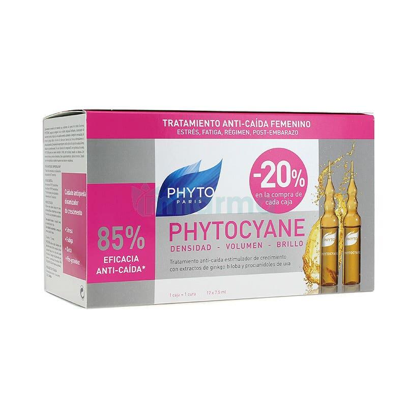 Phytocyane Tratamiento Anti Caida Densificante 12 Ampollas