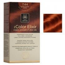 Tinte My Color Elixir Apivita N7.44 Rubio Cobrizo Intenso