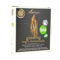 Ginseng Negro Fermentado Bio Soria Natural 24 Capsulas