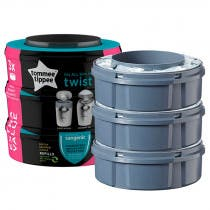 Recambios Contenedor Panales Twist Click Tommee Tippee 3Uds