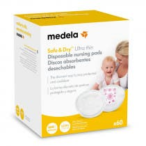 Discos Lactancia Safe and Dry Ultra Thin Medela 60Uds