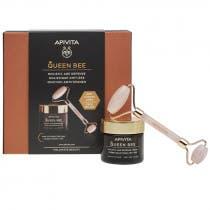 Apivita Queen Bee Textura Rica 50ml REGALO Roller Jade