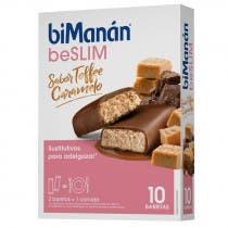 Bimanan Be Slim Barritas Toffee 10 Uds