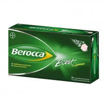 Berocca Boost Vitaminas y Rendimiento 30 Comprimidos Efervescentes