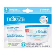 Dr Browns Bolsas de Esterilizar al Microondas Dr  Brown s 5 Bolsas