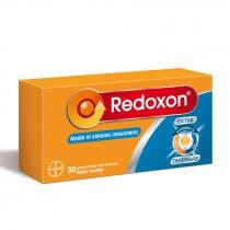 Redoxon Extra Defensas Vitamina D  Vitamina C y Zinc 30 Comprimidos Efervescentes Naranja