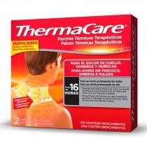 ThermaCare cuello, hombros y munecas 2 Parches para el dolor