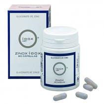 Zinox Ioox Gluconato de Zinc 60 Capsulas