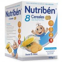 Nutriben 8 Cereales Galletas Maria 600gramos