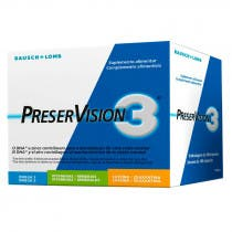 Bausch Lomb Preservision 3 180 Capsulas