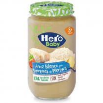 Tarrito Merluza Con Arroz Hero Baby 235 Gr