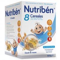 Nutriben 8 Cereales 600gramos