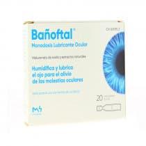 Banoftal Monodosis Lubricante Ocular 20uds
