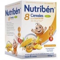 Nutriben 8 Cereales y Miel 4 Frutas 600 Gramos