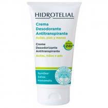 Hidrotelial Crema Activa Desodorante Antitranspirante Axilas  Pies y Manos 50ml