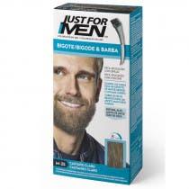 Just For Men Bigote  Barba y Patillas Para el Hombre Color Castano Claro