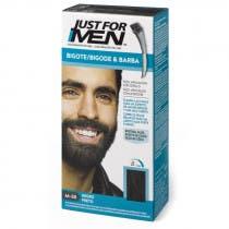 Just For Men Bigote  Barba y Patillas Para el Hombre Color Negro