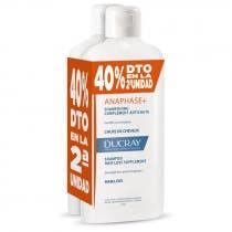 Pack Duplo Ducray Anaphase Champu Anti-Caida 400 ml