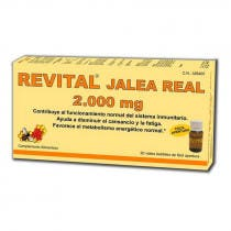 Revital Jalea Real 2000mg 20 viales