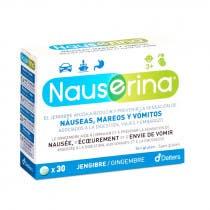 Nauserina 30 Comprimidos Antimareos Jengibre