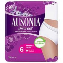 Ausonia Discreet Plus Talla M 9Uds