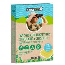 Parches Antimosquitos Eucalipto y Citronela Nosa 24uds