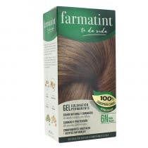 Gel Coloracion Permanente Farmatint 6N Rubio Oscuro 150ml
