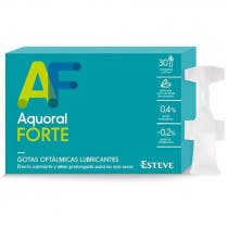 Aquoral Forte Gotas Oftalmicas Lubricantes 30 Monodosis x 0.5ml