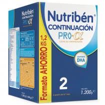 Leche Nutriben Continuacion 1200 g