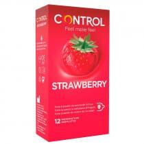 Preservativos Control Sabor Fresa 12 Uds