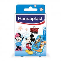 Curitas Hansaplast Junior Mickey y Amigos Disney 20uds