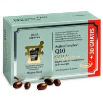 ActiveComplex Q10 Gold 100mg Pharmanord 120 Capsulas
