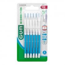 Cepillos Interdentales Bi Direction 0 9mm Gum Azules 6Uds