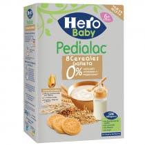 Papilla 8 Cereales Con Galleta Pedialac Hero Baby 340Gr