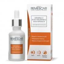 Serum Reparador Vitamina C y Acido Hialuronico Remescar 30ml