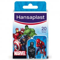 Hansaplast Curitas Infantiles Marvel 20 Uds