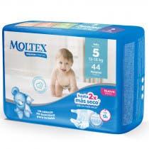 Panales Moltex Premium Talla 5 13 18Kg 44Uds