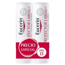 Eucerin Protector Labial 4 8g DUPLO