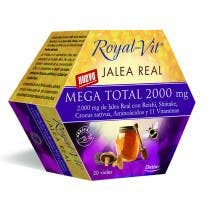 Ampollas Jalea Real Mega Total 2000mg Royal Vit Dietisa 200ml