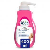Crema Depilatoria Minima Piel Sensible con Dosificador Veet 400ml