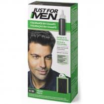 Just For Men Champu para Hombre Tinte para Hombre Colorante en Champu Negro