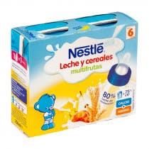 Nestle Papilla Liquida Multifrutas 2x250ml 6m
