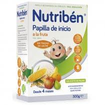 Nutriben Papilla Inicio Frutas 300 Gramos
