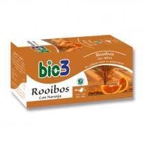 Bie3 Te Rooibos con Naranja 25 Bolsitas